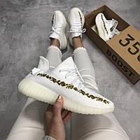 Кроссовки Adidas Yeezy Boost 350 V2 White  (ААА+)
