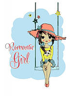 Набор картина по номерам Rosa Start стандарт Romantic Girl 35х45см (4823098514633)