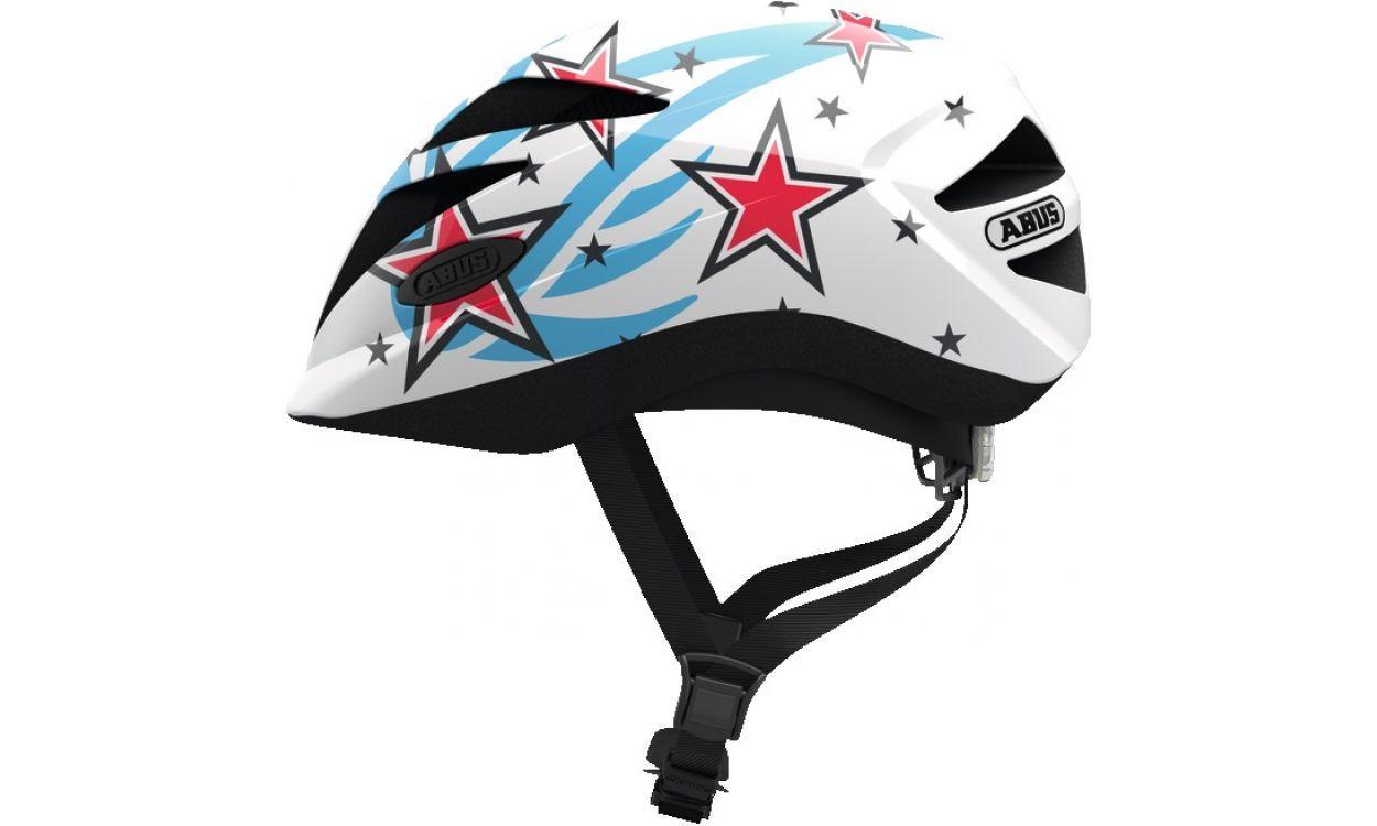 Велошлем детский ABUS HUBBLE 1.1 White Star