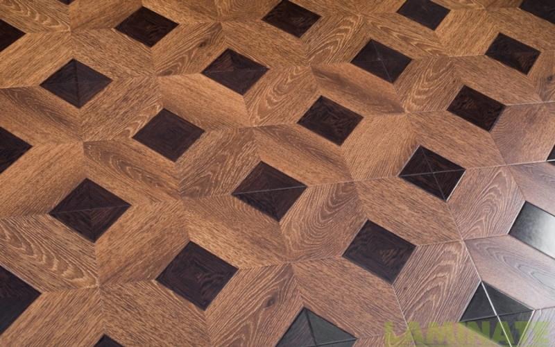 Ламинированный пол с имитацией паркета толщиной 8 мм Tower Floor 33 класс, цвет 1592-5