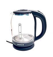 Стеклянный электрический чайник Banoo BN 2020 с подсветкой