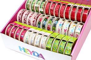 Набір дизайнерського скотчу Heyda Весна 36шт за 15смх10м 9диз (4005329122552)