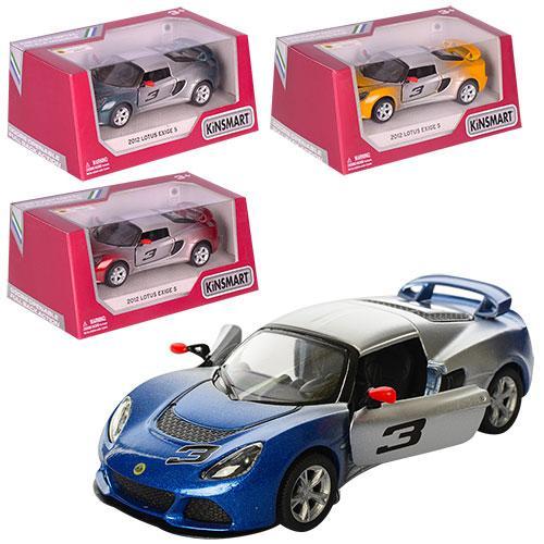 """Машинка металлическая Kinsmart """"Lotus Exige S"""" КT 5361 WG 2012"""