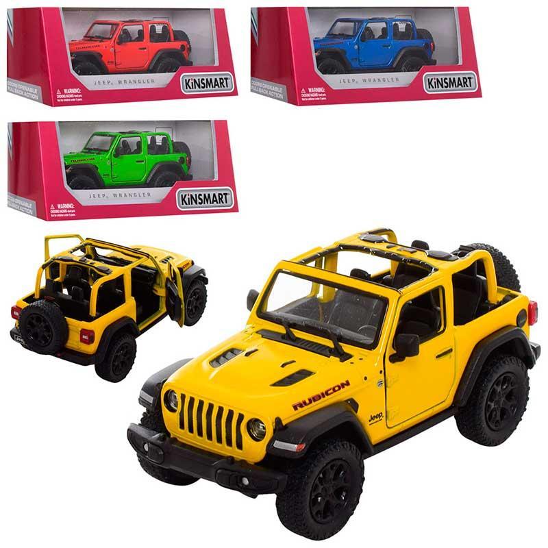 "Машина металлическая  КT 5412 WA ""T5412 WA Jeep Wrangler"""