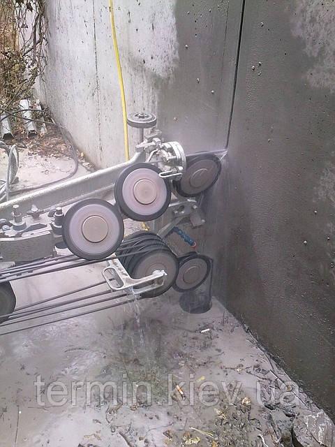 Резка бетона канатом купить бетон барыбино