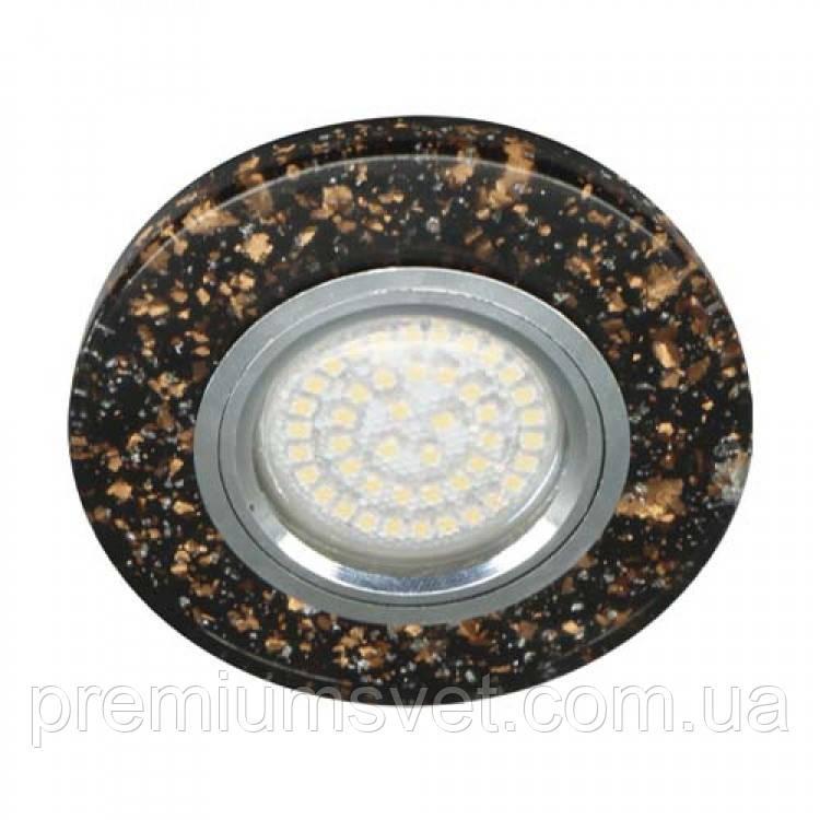 8585-2 MR16 черный золото серебро с led