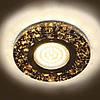 8585-2 MR16 черный золото серебро с led, фото 2