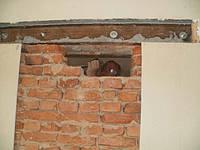 Отвори в цегельній стіні, фото 1