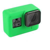 Чехол TELESIN для GoPro HERO5/6/7 TPU Silicone Case (Green) [34648]
