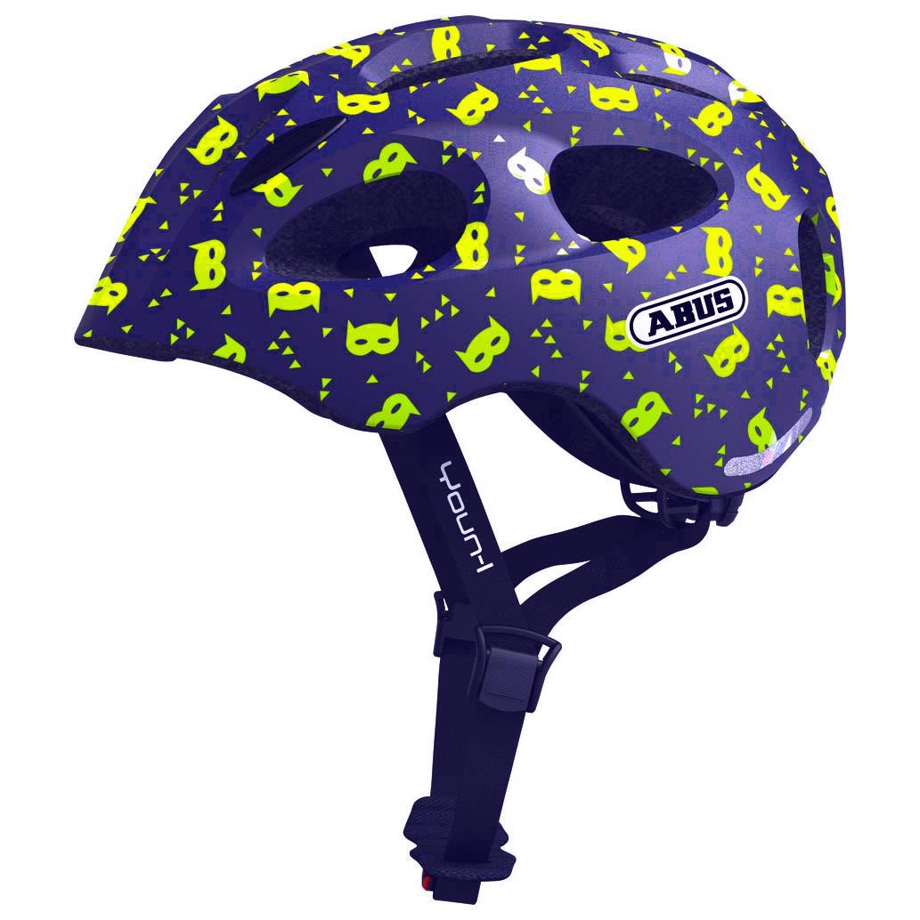 Велошлем детский ABUS YOUN-I Blue Mask