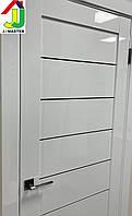 Двери межкомнатные RE 48 Белый глянец, дверь для квартиры, дверь для дома, дверь в офис.