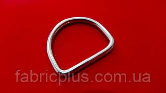 Полукольцо  20 мм  (2,20 мм(d), 15 мм(h), никель