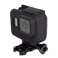 Чехол силиконовый на рамку TELESIN для GoPro HERO5/6/7 TPU Silicone Case (Black)