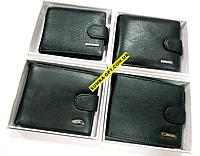 Мужские кошельки и портмоне на кнопке оптом (в ассортименте)14*10см