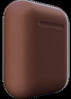 Apple Wireless Charging Case Brown Matte (MR8U2)