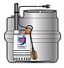Pedrollo SAR 100 ― ZXm 1A/40 канализационная насосная станция для сильно загрязненной воды