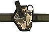 Кобура Форт-17 поясная с чехлом под магазин (Oxford 600D, пиксель), фото 4