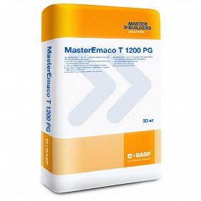 MasterEmaco T 1200 PG безусадочная быстротвердеющая сухая смесь наливного типа