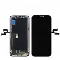 LCD Дисплей Модуль Экран для iPhone X A1901 + тачскрин , черный OLED GX HARD