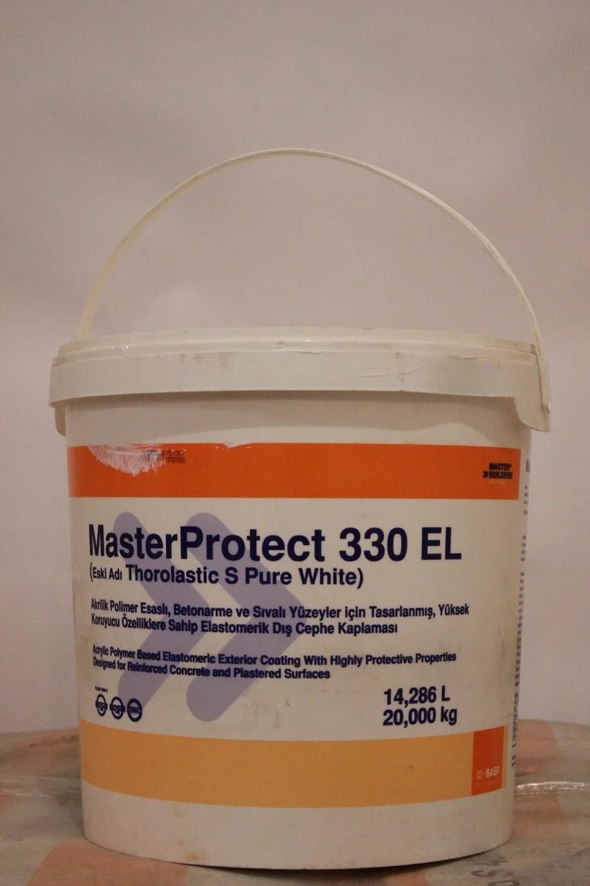 MasterProtect 330 EL эластичное защитное декоративное покрытие для бетонных и кирпичных поверхностей