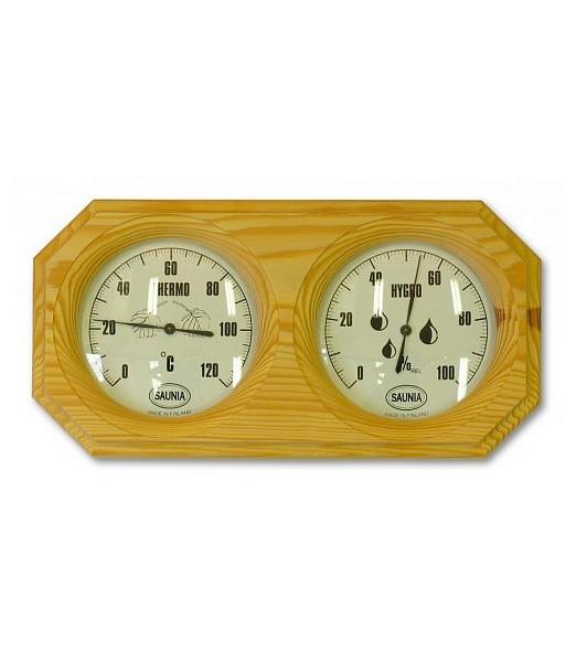 Термогігрометр сосна для лазні та сауни