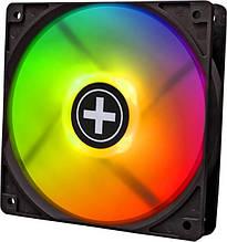 Вентилятор Xilence XPF120RGB-SET (XF061), 120х120х25мм, 4-pin, Black_