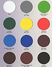 Резиновая краска Ярко-голубая RAL 5015 Colorina 12кг (матовая акриловая колорина для крыш), фото 2