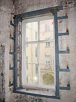 Віконний проріз у цегляній кладці, фото 1