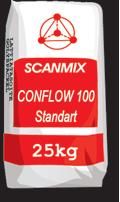 Самовыравнивающиеся полы CONFLOW-250 Standart