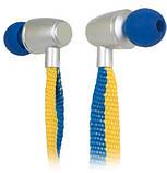 Навушники з мікрофоном Ergo ES-500i Ukraine Синій, фото 3