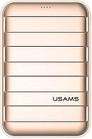 Портативная батарея Usams US-CD14 Trunk Power Bank 20000mah Gold