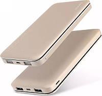 Портативная батарея Usams US-CD13 Metal Power Bank 10000 mah LESU Series Gold