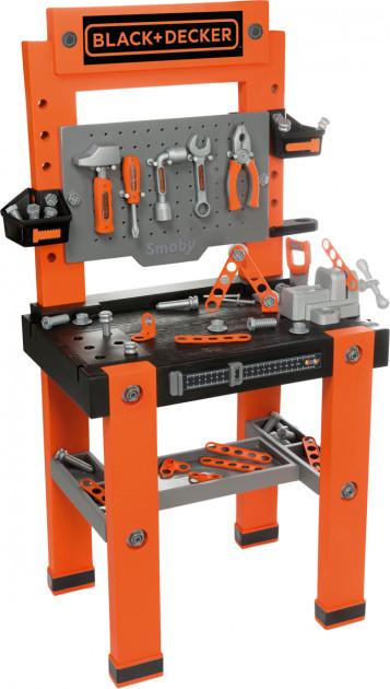 Игровой набор Smoby Toys Black+Decker Мастерская с 2 боксами и 79 аксессуарами 360700
