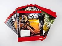 Комплект зошитів А5 Міцар скоба 24 арк лінія офсет Star Wars 20 шт 249107, КОД: 902405