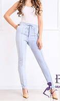 Женские брюки с высокой посадкой В 018/ 04, фото 1