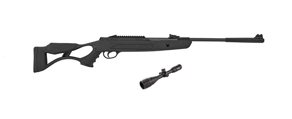 Пневматическая винтовка Hatsan AirTact PD с газовой пружиной + прицел Sniper 3-9x40 AR