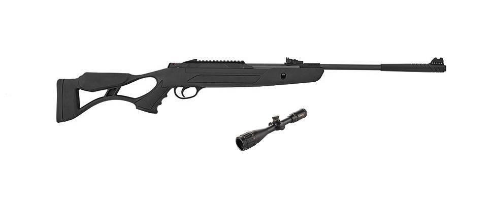Пневматическая винтовка Hatsan AirTact PD с газовой пружиной + прицел Sniper 3-9x40 AR, фото 2