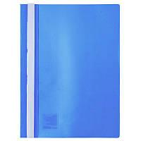 Скоросшиватель Axent А4 голубой усы, PP (1317-22-A)
