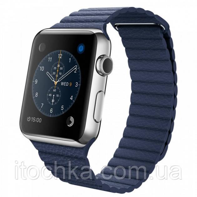 Ремешок Leather Loop for Apple Watch 42mm/44mm Midnight Blue