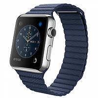 Ремешок Leather Loop for Apple Watch 42mm/44mm Midnight Blue, фото 1
