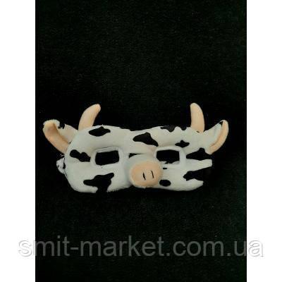 Полумаска детская Корова