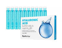 Увлажняющий филлер Farmstay Hyaluronic Acid Super Aqua Hair Filler