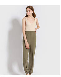 Брюки домашние женские Fly, зеленый Berni Fashion (One Size)