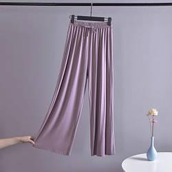 Брюки домашние женские Life, фиолетовый Berni Fashion (M)