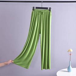 Брюки домашние женские Life, зеленый Berni Fashion (M)