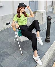 Брюки домашние женские Comfort, черный Berni Fashion (M)