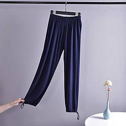 Брюки домашние женские Comfort, синий Berni Fashion (M)