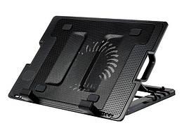 Охлаждающая подставка для ноутбука ErgoStand 181 928 Черная 1084, КОД: 666822