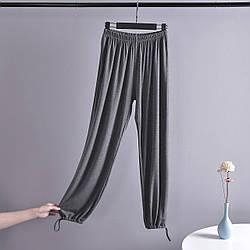 Брюки домашние женские Comfort, серый Berni Fashion (M)