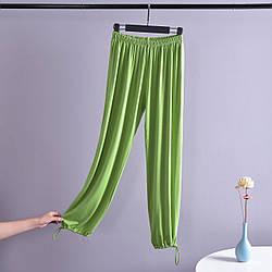 Брюки домашние женские Comfort, зеленый Berni Fashion (M)